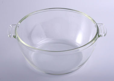 Pyrex Clear Microwave Safe Glass Bowl Set With Lid Used For Oven Baking