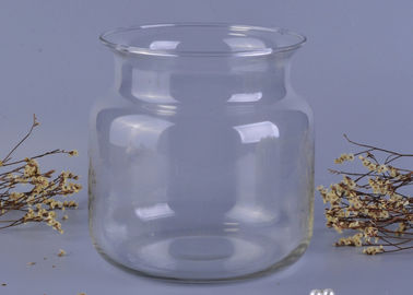 Mutil - useful clear wide mouth glass food storage jars Big capacity