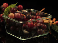 Recyclable Borosilicate Airtight Microwave Safe Glass Bowl Heat Resisting